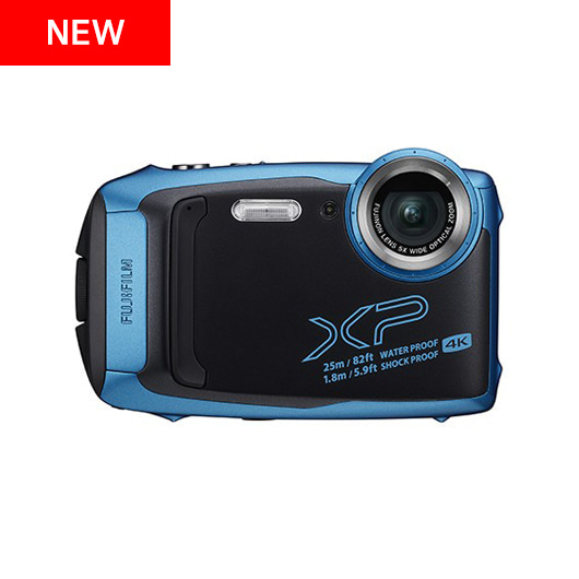 후지필름 FinePix XP140 SKY BLUE / DARK SILVER / LIME / WHITE / YELLOW + 렉사 64GB 정품 고속 메모리 증정